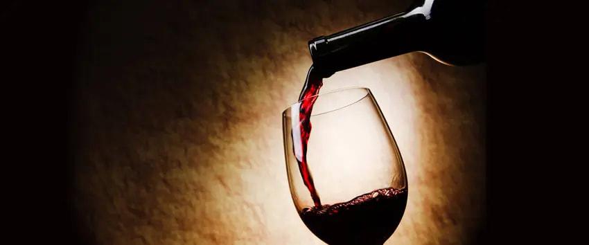 copa de vino a diario