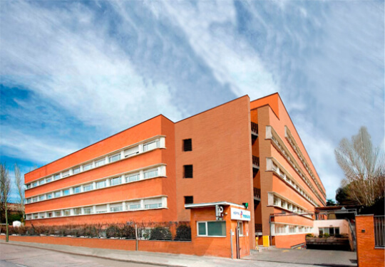 Madrid hospital HQ