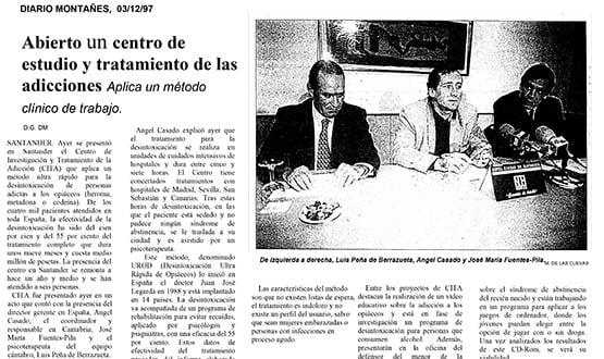 centro de desintoxicacion - Prensa en España