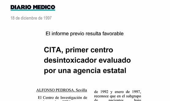 centro desintoxicacion - Prensa en España