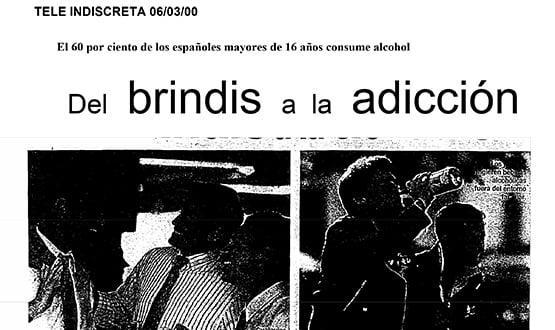 dejar el alcohol - Prensa en España