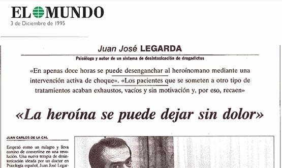 dejar heroina sin dolor - Prensa en España