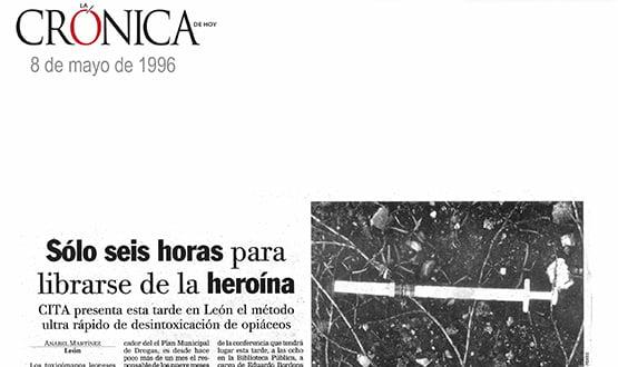 dejar la heroina en 6 horas - Prensa en España