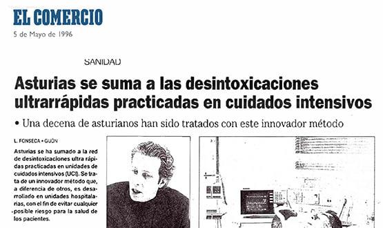 desintoxicacion ultrarrapida tratamiento adicciones - Prensa en España