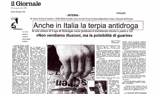 eroina trattamento - Prensa en Italia