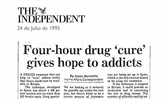 heroin detox - Prensa en Inglaterra