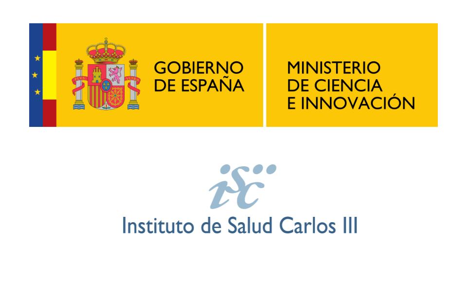 logotipos ministerio ciencia innovacion instituto salud carlos iii - Evaluaciones por el Ministerio de Ciencia e Innovación