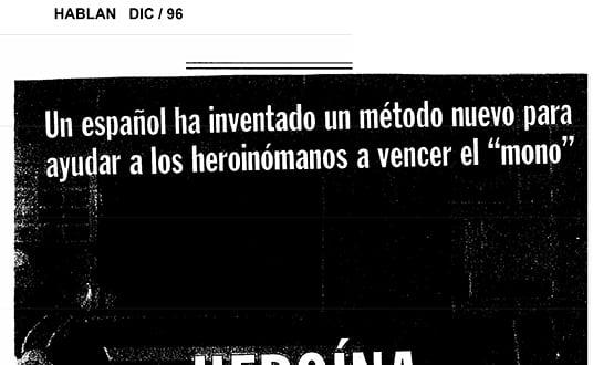 metodo contra adiccion heroina - Prensa en España