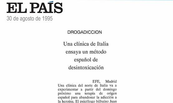 metodo espaniol desintoxicacion drogas - Prensa en España
