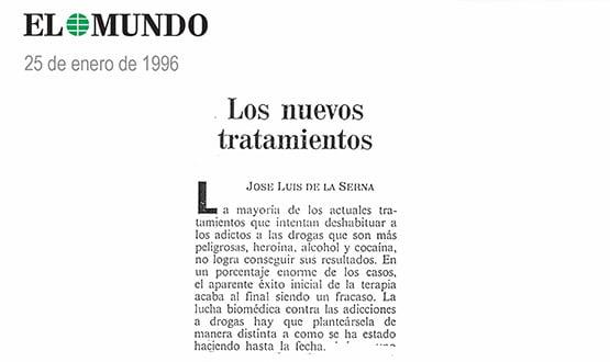 metodo para dejar las drogas - Prensa en España