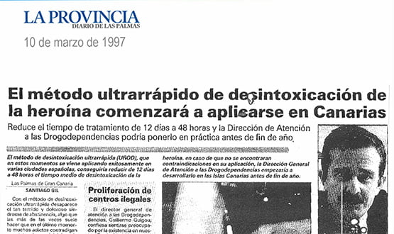 metodo ultrarrapido desintoxicacion heroina - Prensa en España