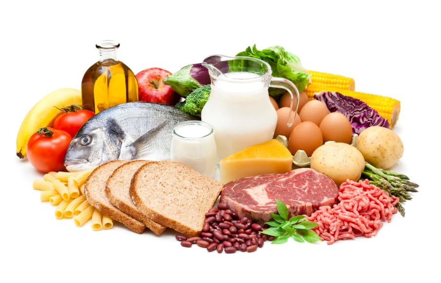 bodegon alimentos saludables