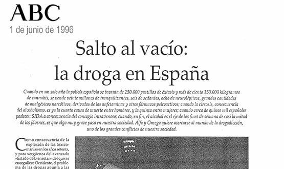 tratamiento drogas - Prensa en España