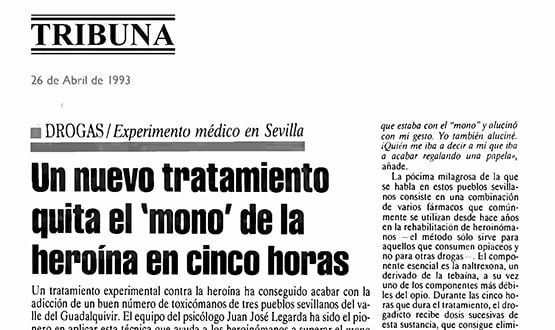 tratamiento heroina 1 - Prensa en España