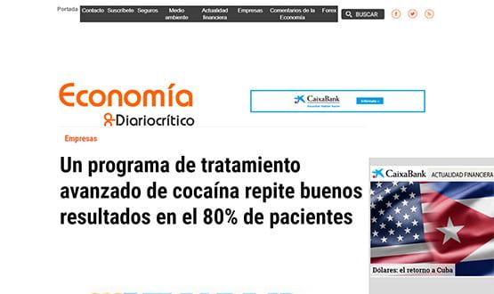 diariocritico16 - Artículos de prensa sobre Tavad y la adicción a las drogas en Internet