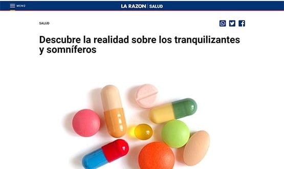 larazon18 - Artículos de prensa sobre Tavad y la adicción a las drogas en Internet