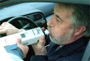 Imagen de un control de alcoholemia