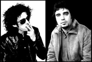 De izquierda a derecha, Andrés Calamaro y 'Lichis'