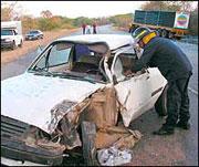 El 5% de los conductores fallecidos en 2004 por accidente de tráfico consumía cocaína