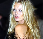 Kate Moss, tratada recientemente por su adicción a la cocaína