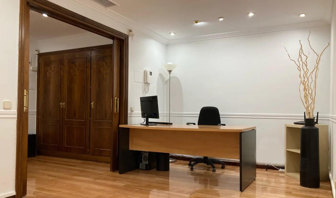 Despacho de la sede central de tavad