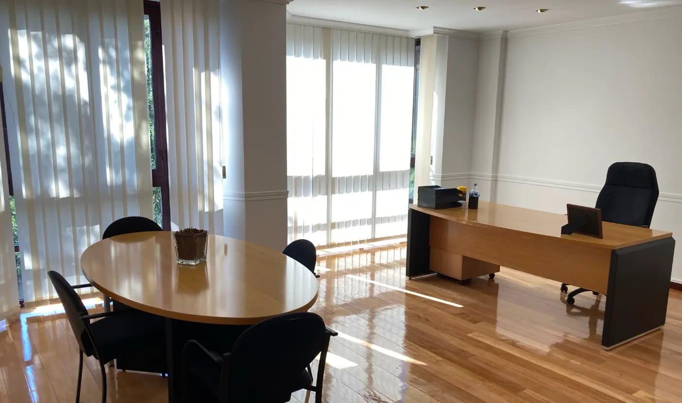 Sala de reunión de la sede central de tavad